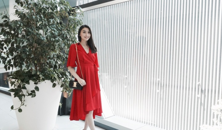 Another CNY, Another Red Dress.