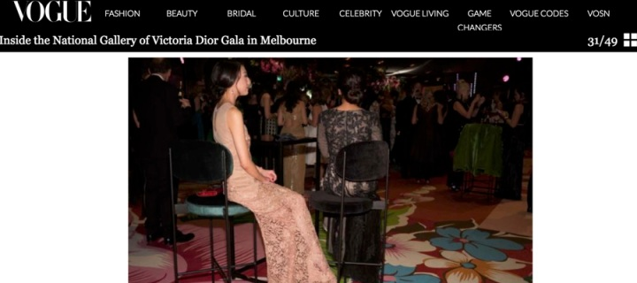 Inside the NGV Dior Gala